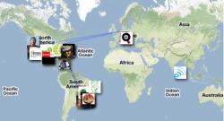 TwitterMap Veja como criar um mapa com os seus seguidores no Twitter