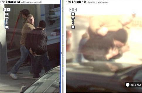 fight4 Imagens estranhas no Google Street View