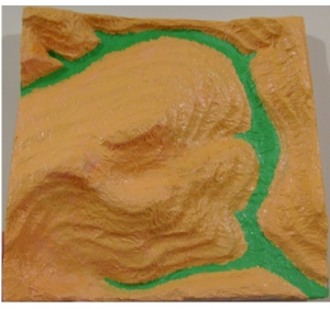 maquete pintada 5 Da maquete em isopor à impressão 3D