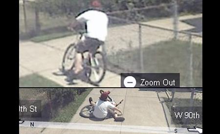 queda Imagens estranhas no Google Street View