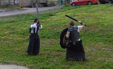 samurai Imagens estranhas no Google Street View